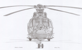 Fine art prints of Gazelle helicopter