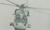 Fine art prints of Merlin helicopter